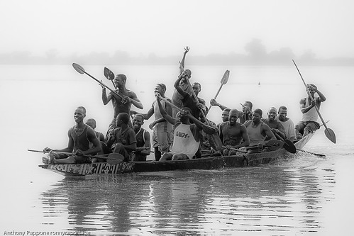 Festival on the Niger in Segou, sahel, mali by ronnyreportage