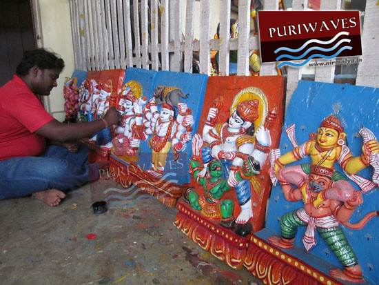 Paintings of Parswa Devata by Painter Sevayat