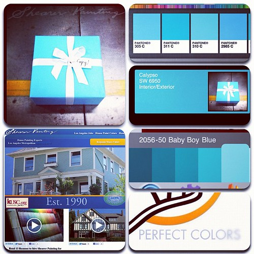 #Tiffany paint colors by @spanaway