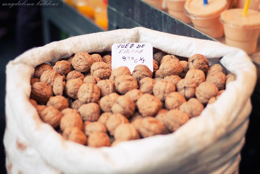 Nueces del mercado
