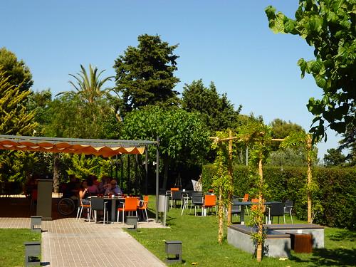 Terrace in Pedralbes