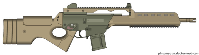 mg36 light machine gun