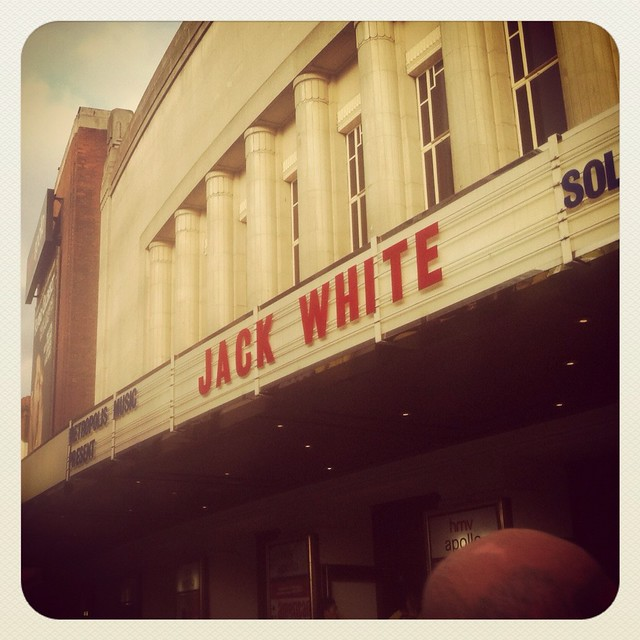 138/366 - Jack White at the HMV Apollo