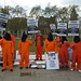 """Free Shaker Aamer"" protest in London, April 2012"