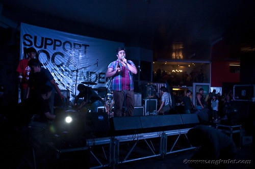 The Discoball - Fete de la Musique 2012 Rock Stage
