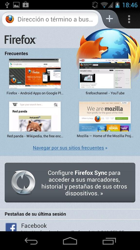 Nuevo Firefox para Android: más rápido y con soporte Flash 32