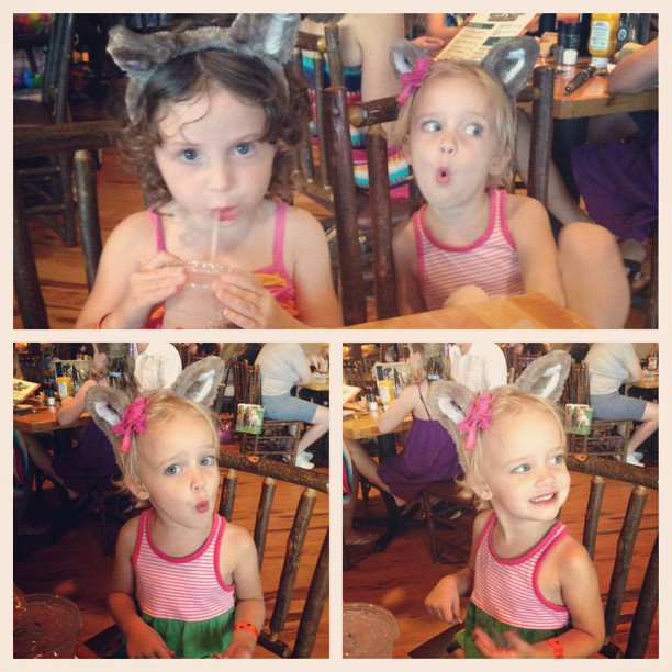 kinley & addie wolf ears
