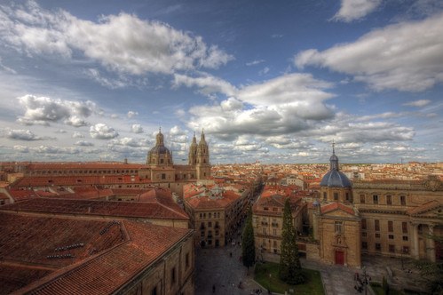 salamanca bird view