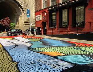 Pearl Street Triangle Painting