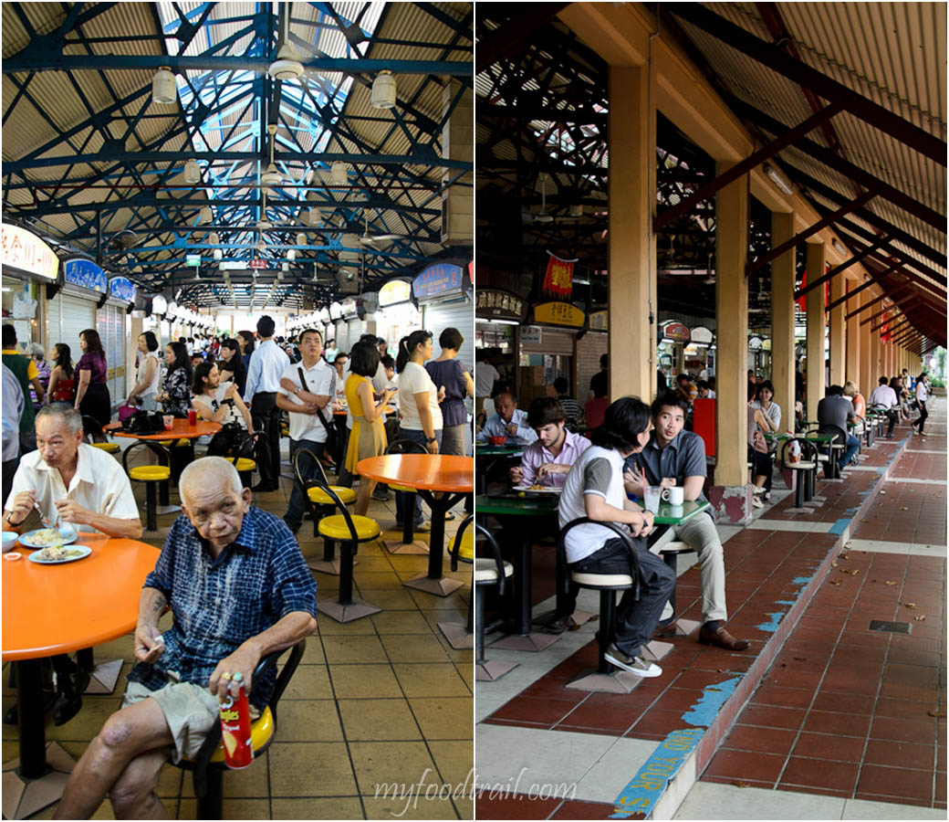 Singapore Hawker Food - Maxwell Road Hawker Centre