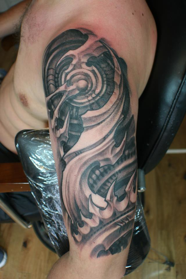 Diesel mechanic tattoo