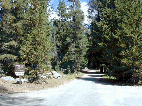 Marvin Pass Trailhead
