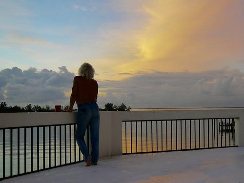 selfportrait arloguthrie indianriver sebastianflorida sunriseontheriver