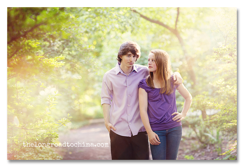 In the beautiful light purple shirts t and b BLOG