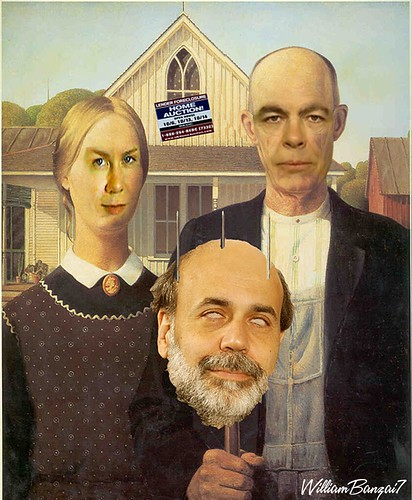 AMERICAN GOTHIC KEISER by Colonel Flick