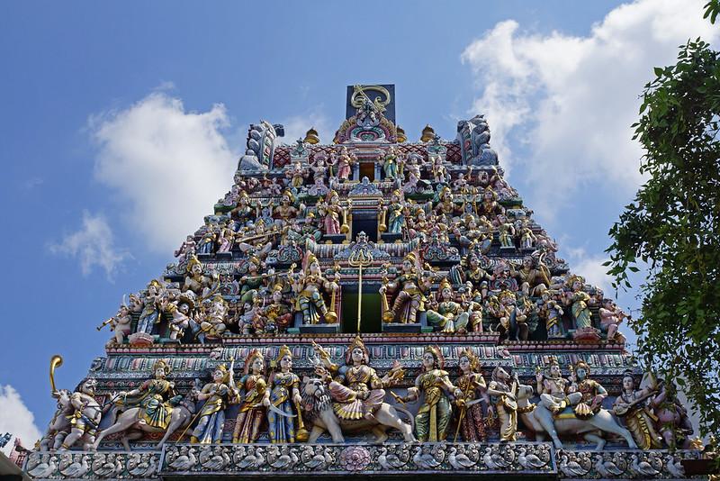 2012-06-17 06-30 Singapore 198 Little India, Sri Veeramakaliamman Temple