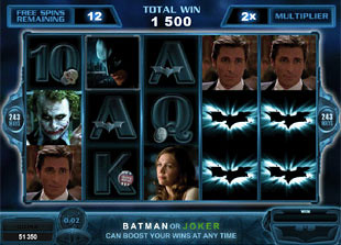 free The Dark Knight Free Spins