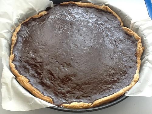 Tarta de Chocolate y frutos secos