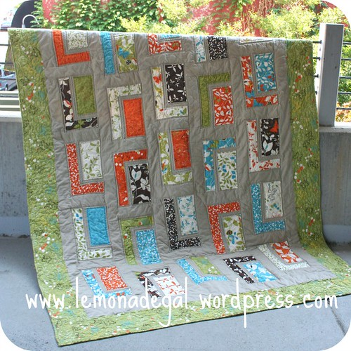 Quilt Pattern Urban Cabin : Quilt Story: Urban Cabin from Lemonade Life...