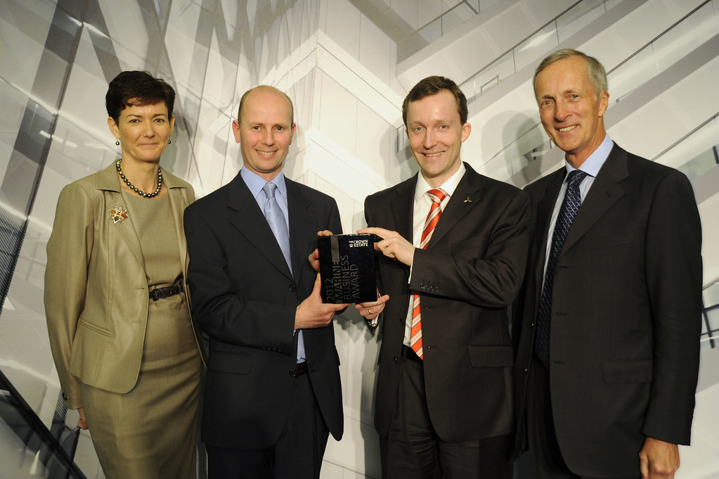 SMart Wind receives The Crown Estate Business Marine Award