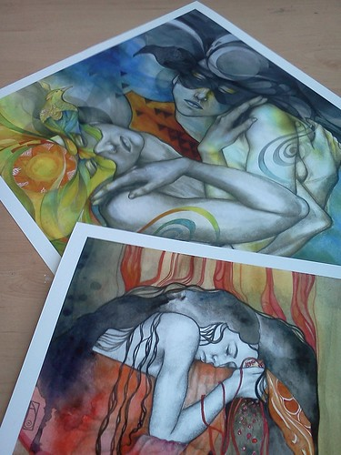 Duality + Persephone: limited edition prints
