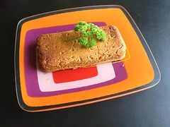 Tip top tofu loaf from La Dolce Vegan!