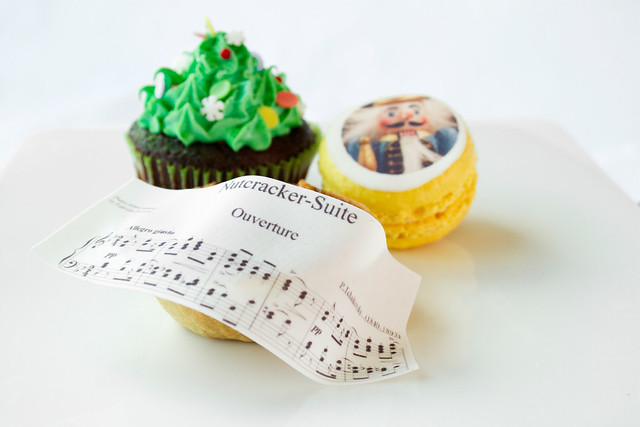 A Nutcracker Christmas Lunch and Sugar Plum Fairy Afternoon Tea © Royal Opera House Restaurants 2012