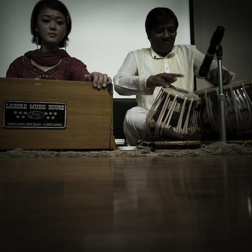 Tabla and Indian Harmonium