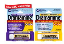 $0.85/1 Dramamine Motion Sickness Relief Product Coupon