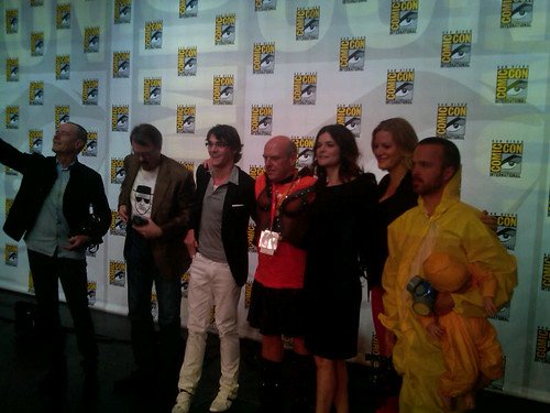 Comic-Con Breaking Bad On Stage