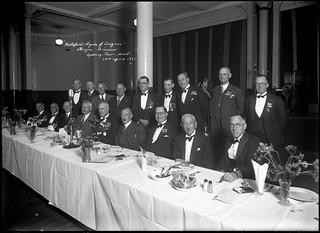Gallipoli Legion of Anzac dinner at Sydney Town Hall