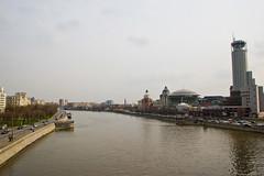 Vue sur la Moskova depuis le Greater Krasnoholmsky Bridge