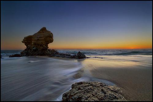 sunset beach rocks motionblur hdr lagunabeach coasterluver