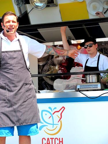 Chuck Hughes at Taste of Nova Scotia, July 21, 2012