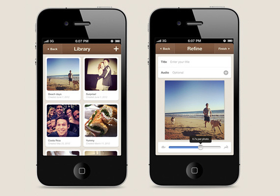 Flipagram, crea vídeos con tus fotos de Instagram