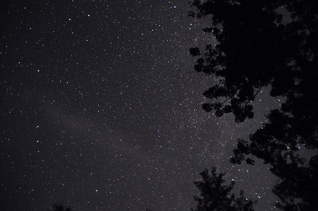 North shore stars - Tetegouche State Park, Minnesota