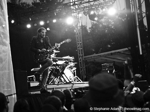 Silversun Pickups @ Firefly Music Festival, Dover, DE 7/2012