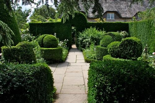 White Garden at Hidcote