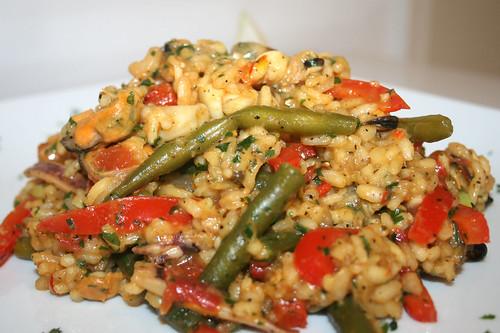 47 - Meeresfrüchte-Paella / Seafood paella - CloseUp