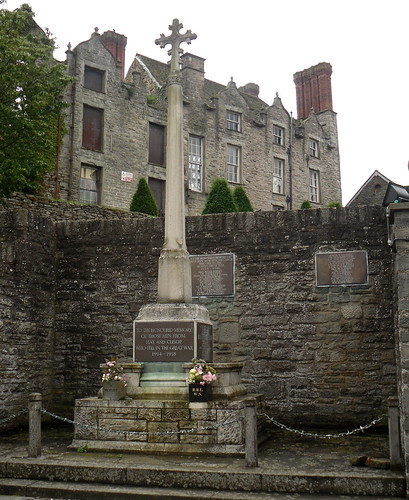 War Memorial, Hay-on-Wye, Powys
