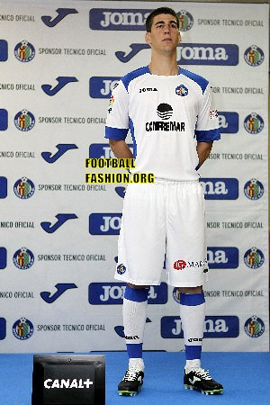Getafe Joma 2012/13 Home, Away and Third Soccer Jerseys / Football Kits / Camisetas
