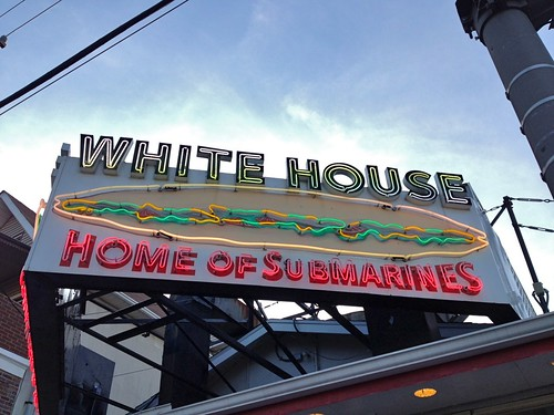 White House Subs Neon Sign