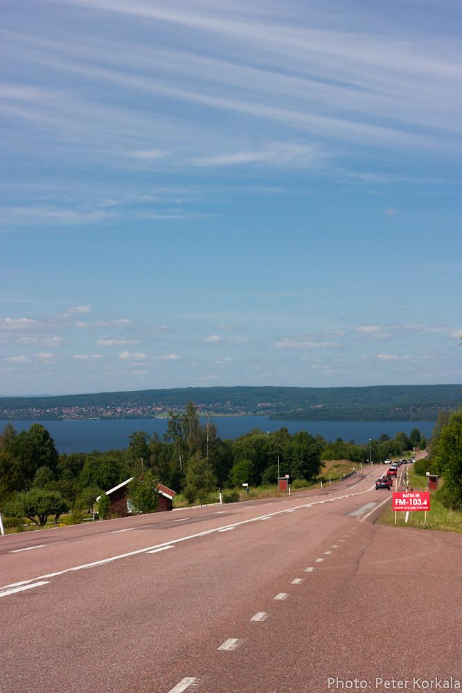 View over Lake Siljan