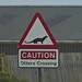 Otter signpost! (Derek Mills)