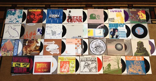 "Collection: Superchunk 7""s by Tim PopKid"