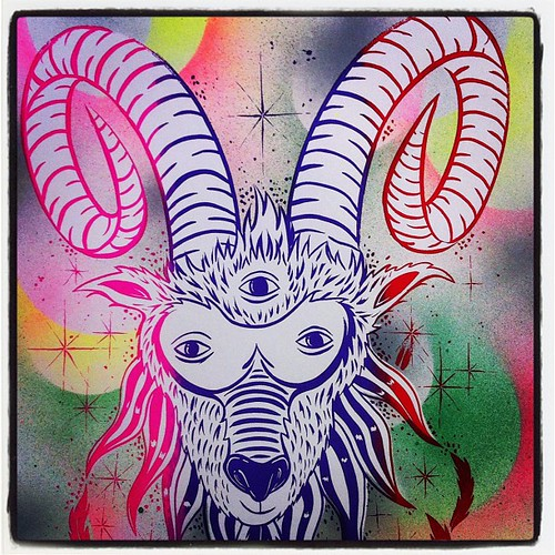 Making a limited amount of these Old Horny prints @prlhsiung @BitchcraftLA by Michael C. Hsiung
