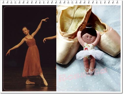 Bailarina by Un rincon para Rosseta