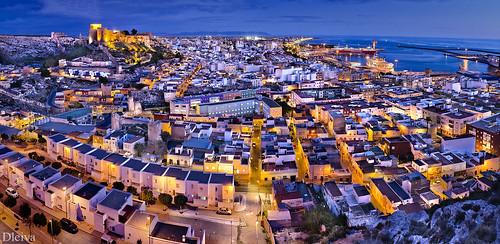 """EXPOSICIÓN """"Almería, una mirada al Centro"""" (Panoramica de la Ciudad) by dleiva"""