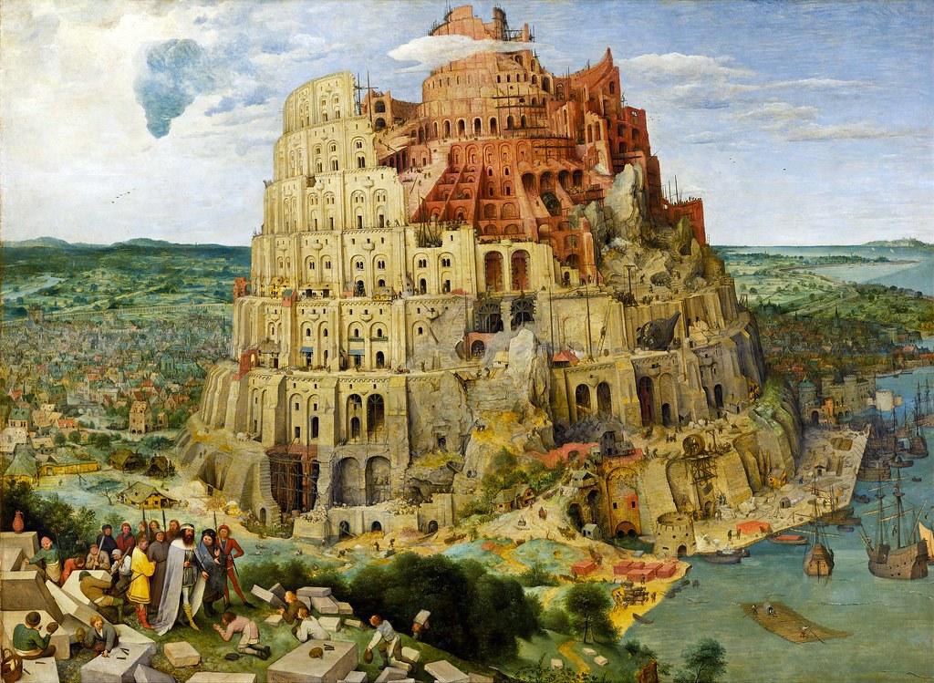 Turmbau zu Babel - Pieter Bruegel 1563
