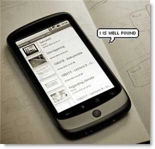 Geo-Tracking Smartphone
